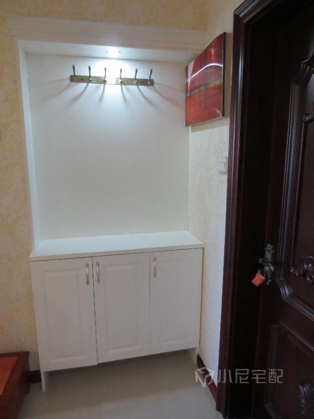 冰箱和鞋柜一体效果图
