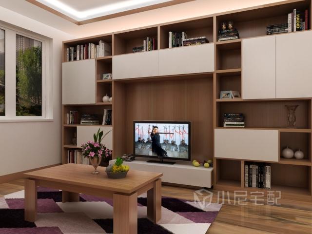 电视背景墙用定制家具制作